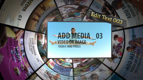 Media Tube After Effects Template