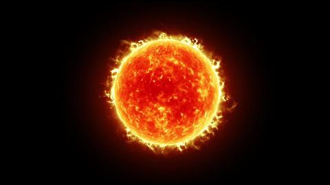 Sun HD CG動画素材