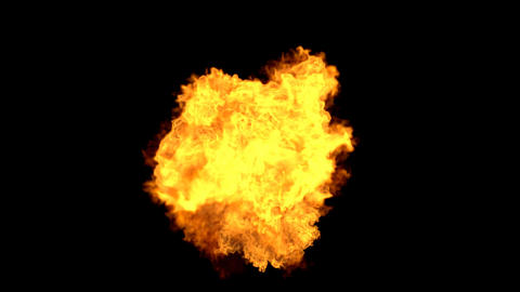 Explosion with Alpha Channel 04 Animation