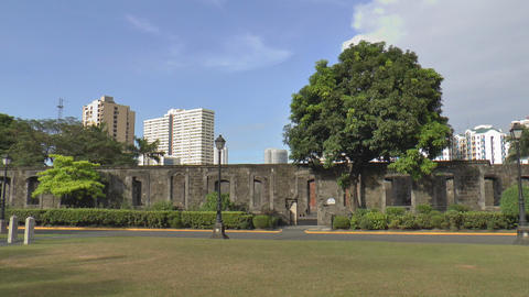 theatre ruins Stock Video Footage