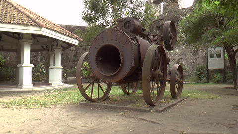 steam engine front Stock Video Footage