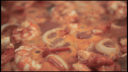 Fish Soup Close Up Footage