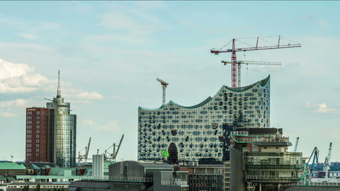 Hamburg, June 2014 - Elbphilharmonie DSLR time lap Footage