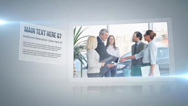 Corporate Presentation After Effects Project