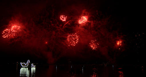 firework 01 4K Stock Video Footage