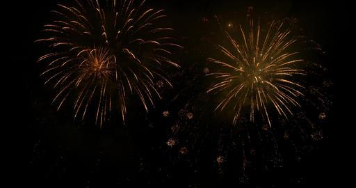 firework 11 4K Stock Video Footage