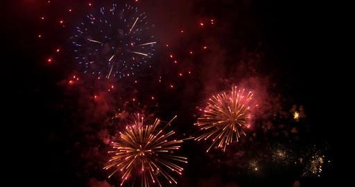 firework 12 4K Footage