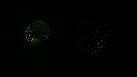 firework slow motion 12 Stock Video Footage