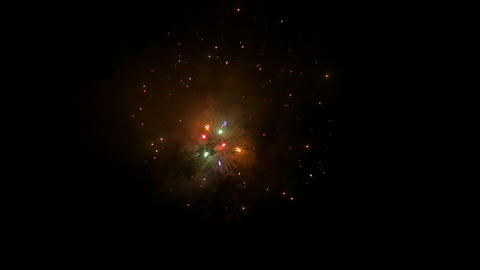 firework slow motion 13 Footage