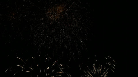 firework slow motion 14 Stock Video Footage