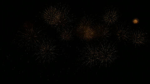 firework slow motion 15 Stock Video Footage