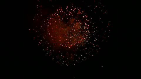 firework slow motion 17 Stock Video Footage