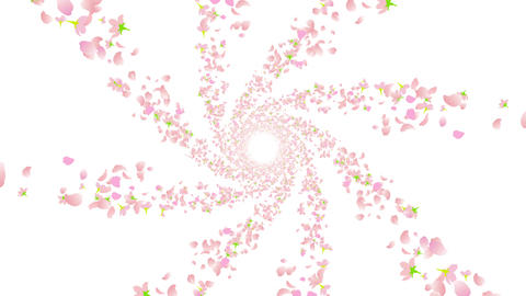 cherry blossom tunnel DF 2 4k Animation