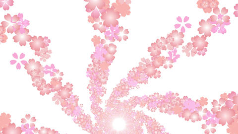 cherry blossom tunnel DG 1 4k Animation