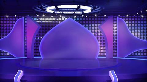 Entertainment TV Studio Set 04 Virtual Green Scree ライブ動画
