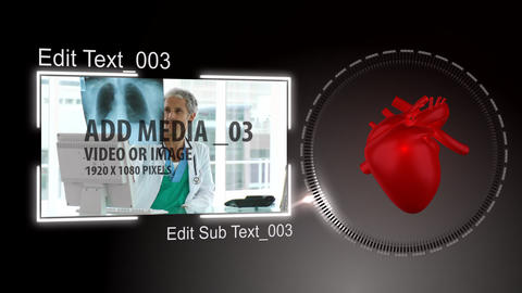 Heart Concept Project After Effects Template