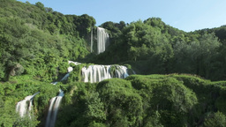 Waterfall Time Lapse Zooming Out stock footage