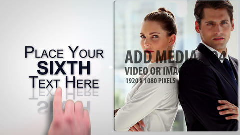 Touch Slide show After Effects Template