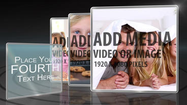 Simple slide show After Effects Template