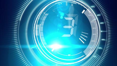 Digital countdown with media - 1