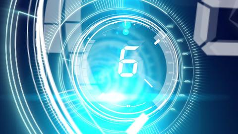 Digital countdown with media - 2