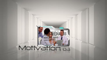 Clean Business Corridor After Effects Templates