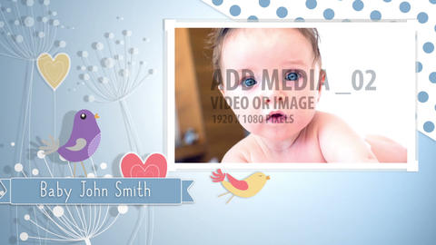 Boy AND Girl Video Baby Book - 2