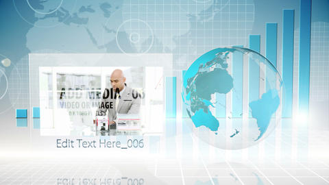 Global Business Presesntation After Effects Template