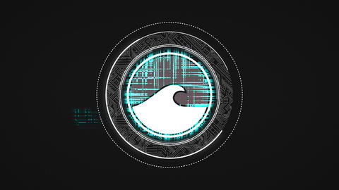 Tech Circle Logo After Effectsテンプレート