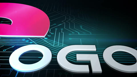 Technology Logo Extrude After Effects Template