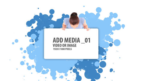 Paint Media Sequence After Effects Template