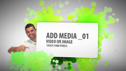 Paint ball Media Sequence (2) After Effects Template
