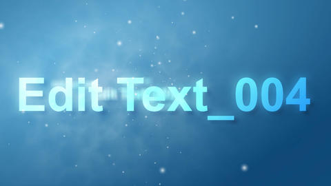 Blue Text Fly Through AE After Effects Template