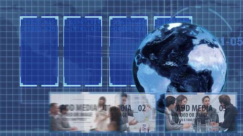Blue Global Markets animation - 3