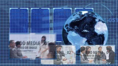Blue Global Markets animation - 4