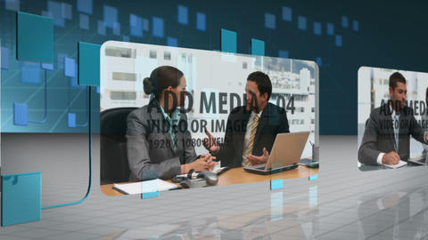 Media Network Panels After Effects Template