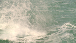 HD2009-4-8-5 waves crashing slo mo Stock Video Footage