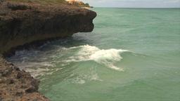 HD2009-4-8-7 waves crashing slo mo Stock Video Footage