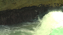 HD2009-4-8-15 waves crashing Stock Video Footage