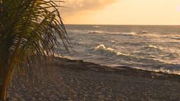 HD2009-4-9-8 sunset beach Footage