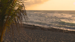 HD2009-4-9-8 sunset beach Stock Video Footage