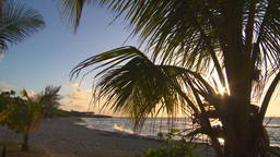 HD2009-4-9-10 sunset beach Stock Video Footage