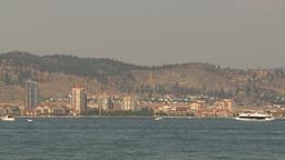 HD2009-8-1-7 Kelowna skyline and lake Footage