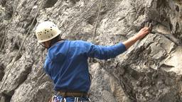 HD2009-8-2-1 rockclimbing x4 Footage