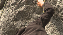 HD2009-8-4-11 rock climbing Footage