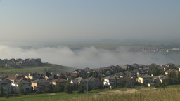 HD2009-8-5-5 fog and homes Footage