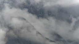 HD2009-8-8-6 clouds tearingalong mtn side Z to highway Footage