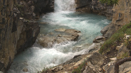 HD2009-8-10-4 gorge river Stock Video Footage