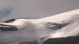 HD2009-8-10-14 shadows on glacier TL LL Stock Video Footage