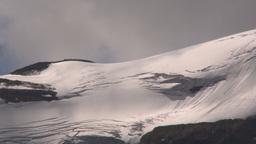 HD2009-8-10-14 shadows on glacier TL LL Stock Video Footage